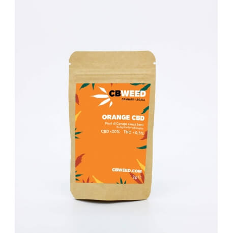 Orange CBD - CBWEED CBWEED €19,90